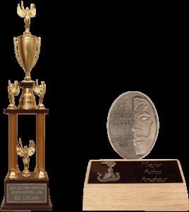 Trofeos y mini-trofeos